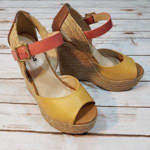 SODA Espadrille Boho Multi-Color Sandal  8